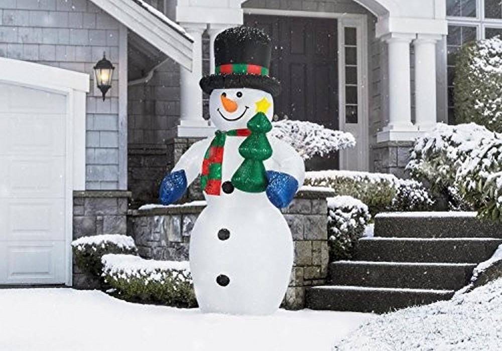 Déco jardin Noël : les alternatives au bonhomme de neige